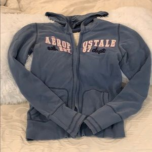 Tops - Aeropostale Zip-up Hoodie Sweatshirt